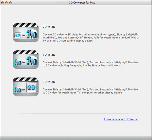 LCYSoft 3D Video Converter for Mac